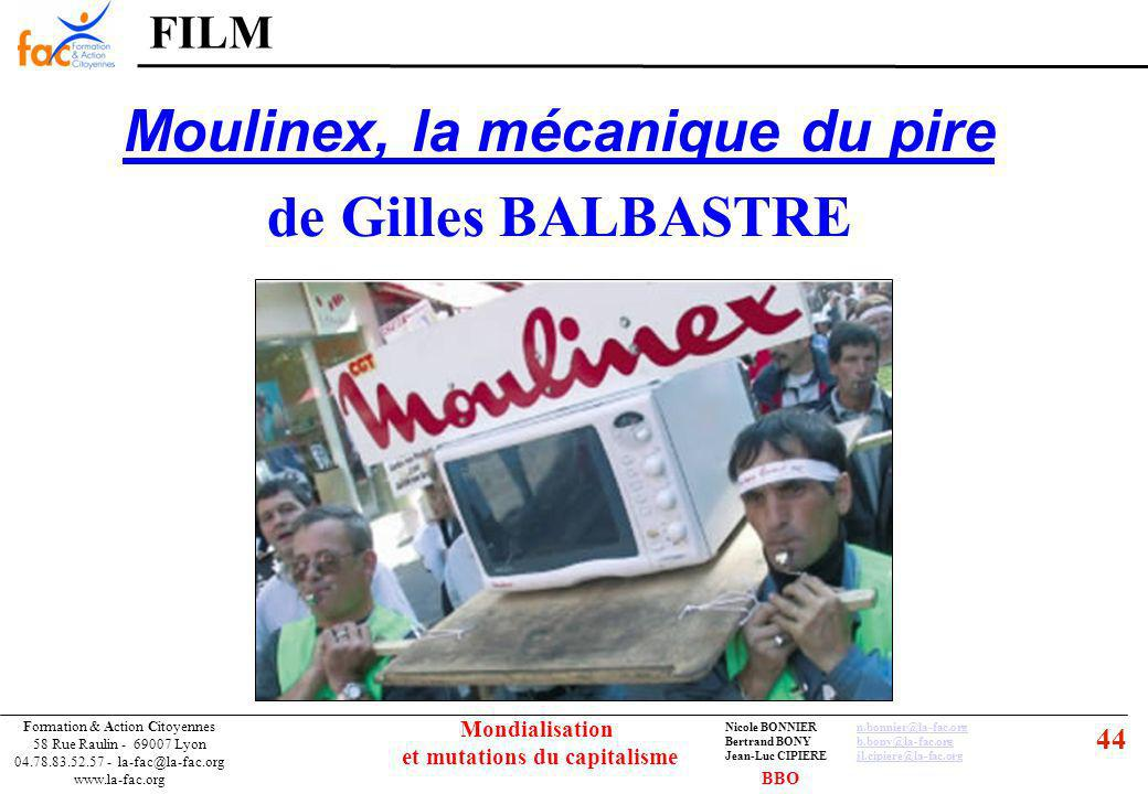 44 Formation & Action Citoyennes 58 Rue Raulin - 69007 Lyon 04.78.83.52.57 - la-fac@la-fac.org www.la-fac.org Nicole BONNIERn.bonnier@la-fac.orgn.bonn