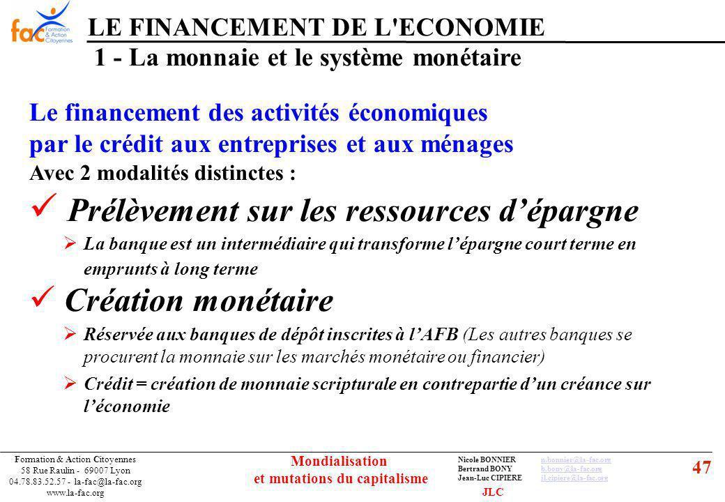 47 Formation & Action Citoyennes 58 Rue Raulin - 69007 Lyon 04.78.83.52.57 - la-fac@la-fac.org www.la-fac.org Nicole BONNIERn.bonnier@la-fac.orgn.bonn