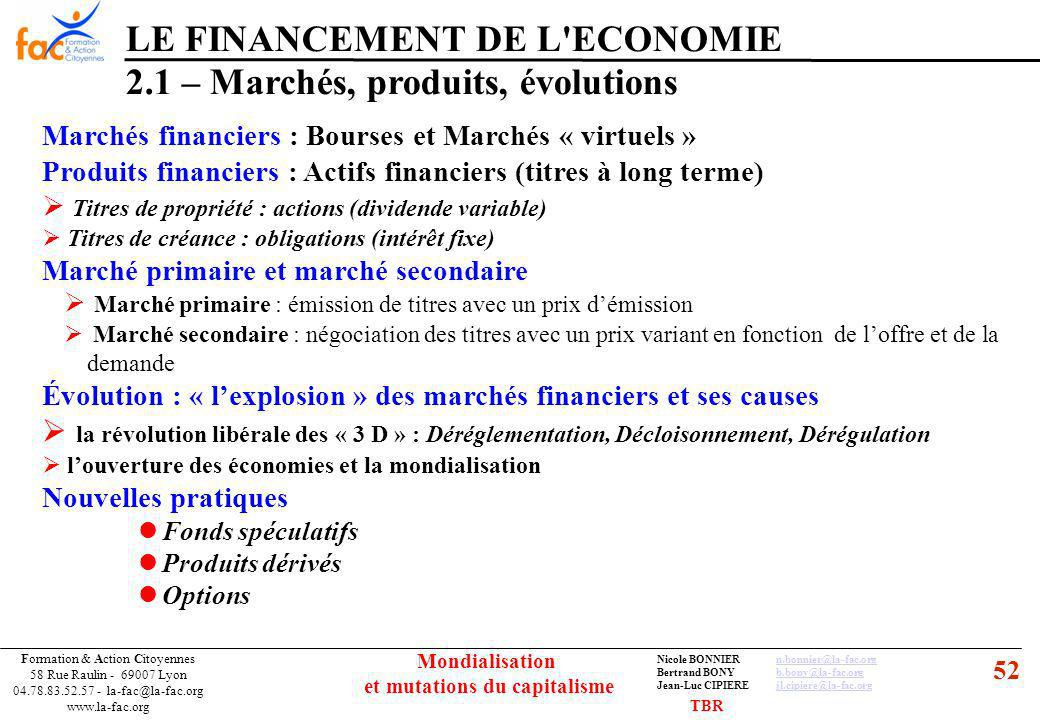 52 Formation & Action Citoyennes 58 Rue Raulin - 69007 Lyon 04.78.83.52.57 - la-fac@la-fac.org www.la-fac.org Nicole BONNIERn.bonnier@la-fac.orgn.bonn