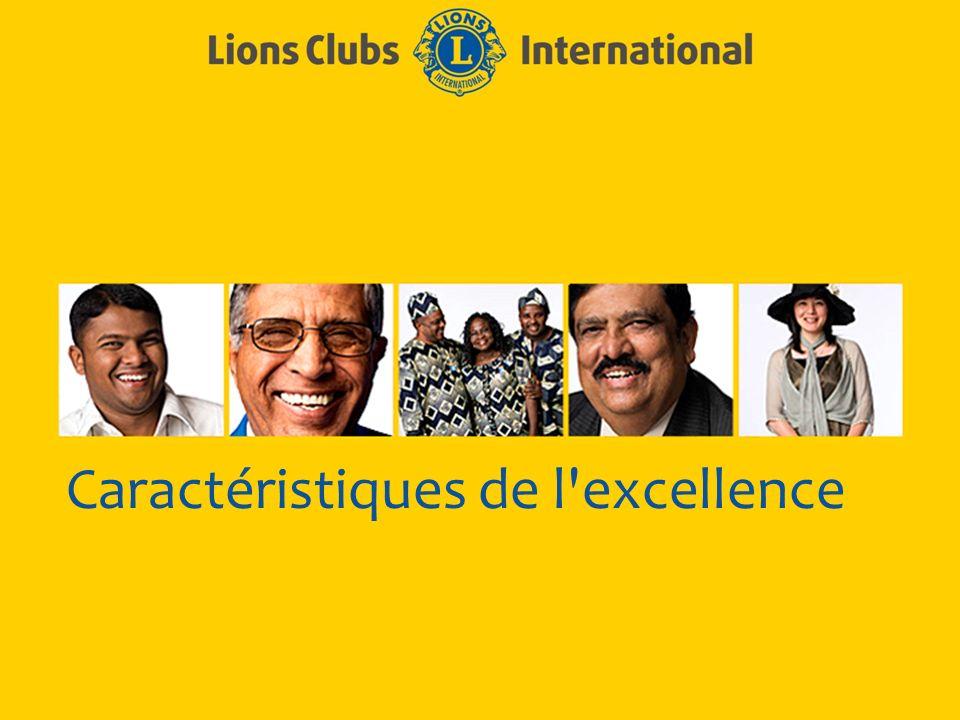 LIONS CLUBS INTERNATIONAL PROCESSUS D EXCELLENCE DE CLUB 14 Eléments nécessaires pour rendre le club plus efficace Oeuvres sociales Communication Croissance de l effectif Développement du club Formation des responsables