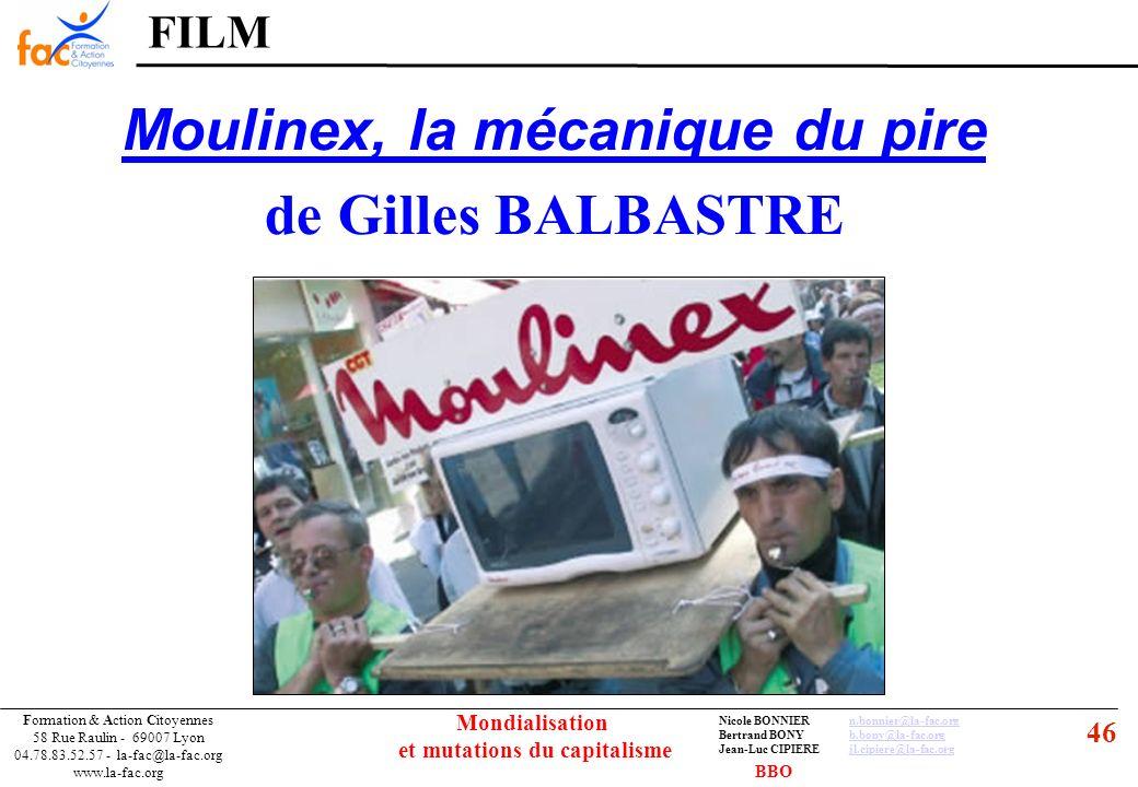 46 Formation & Action Citoyennes 58 Rue Raulin - 69007 Lyon 04.78.83.52.57 - la-fac@la-fac.org www.la-fac.org Nicole BONNIERn.bonnier@la-fac.orgn.bonn