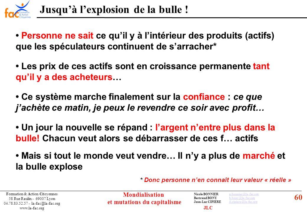 60 Formation & Action Citoyennes 58 Rue Raulin - 69007 Lyon 04.78.83.52.57 - la-fac@la-fac.org www.la-fac.org Nicole BONNIERn.bonnier@la-fac.orgn.bonn