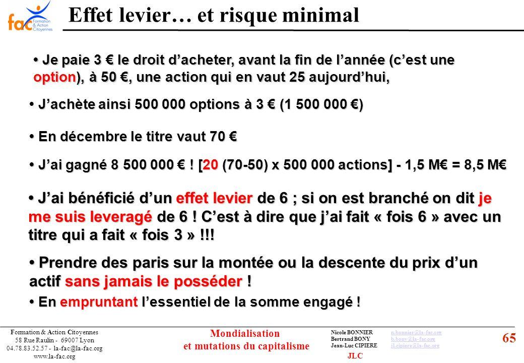 65 Formation & Action Citoyennes 58 Rue Raulin - 69007 Lyon 04.78.83.52.57 - la-fac@la-fac.org www.la-fac.org Nicole BONNIERn.bonnier@la-fac.orgn.bonn