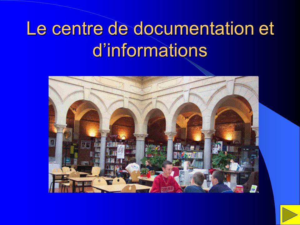 Le centre de documentation et dinformations