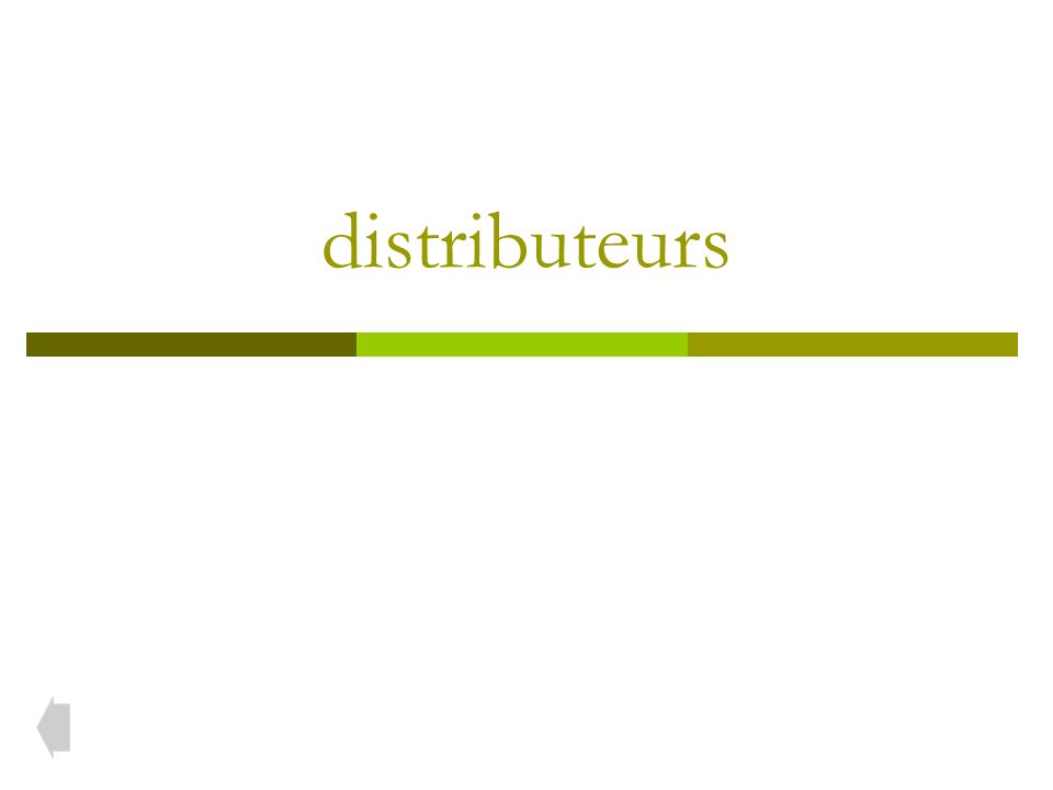 Distributeur à tiroir lisse Ce distributeur 5/2 a un tiroir lisse (pas de joints dynamiques).