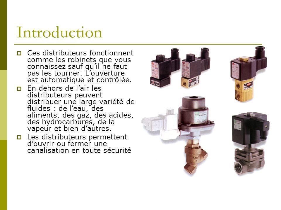 Introduction Ces distributeurs fonctionnent comme les robinets que vous connaissez sauf quil ne faut pas les tourner. Louverture est automatique et co