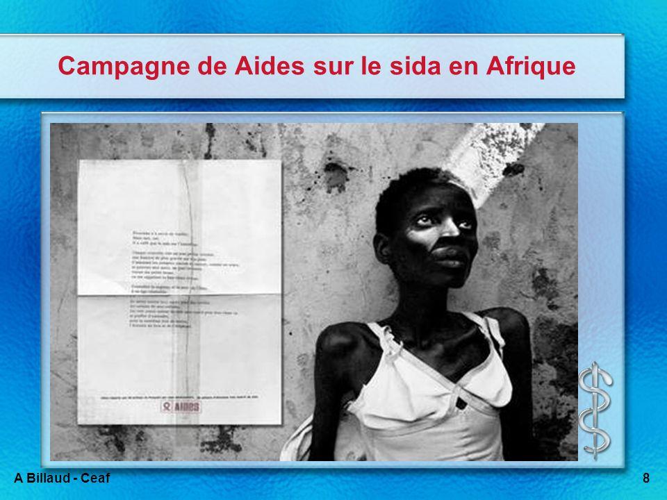 8A Billaud - Ceaf Campagne de Aides sur le sida en Afrique