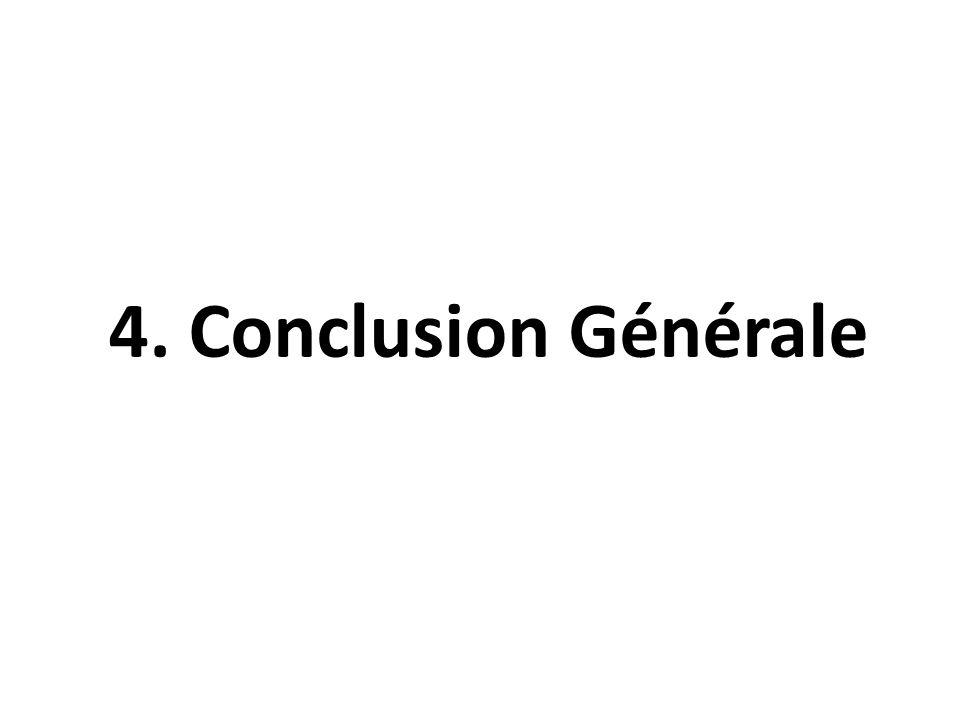 4. Conclusion Générale