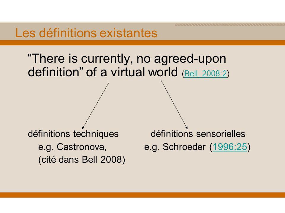 Nécessité détablir une définition.1)Pour différencier le phénomène des autres technologies.
