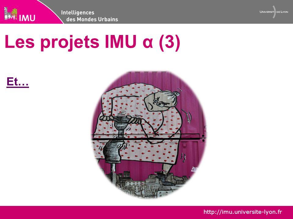 http://imu.universite-lyon.fr IMU α – la jeune recherche urbaine imualpha@gmail.com Prochain rendez-vous: 24-25 juin: le destin des grands ensembles -Intervention de R.