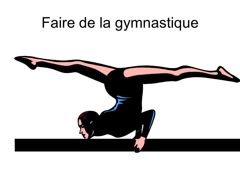 Faire de la gymnastique