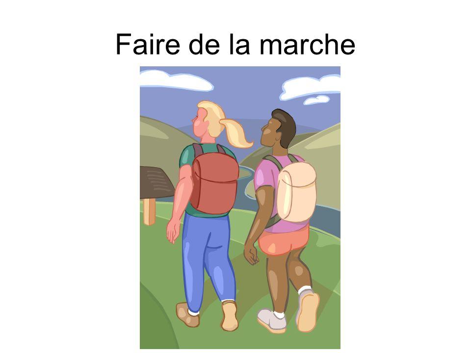 Faire de la marche