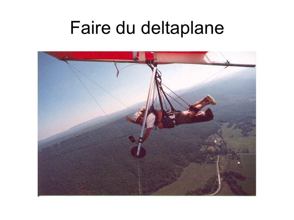 Faire du deltaplane