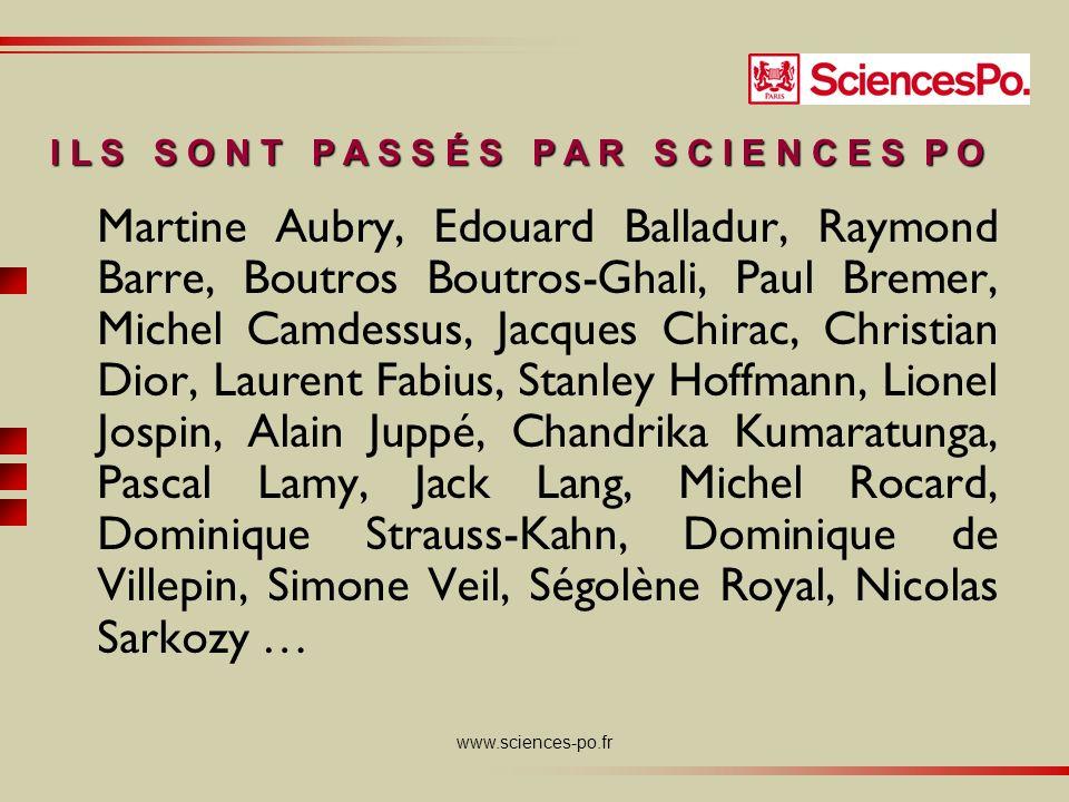 www.sciences-po.fr Un projet éducatif Transmettre des savoirs… … dans une perspective pluridisciplinaire, internationale, orientée vers laction et la prise de responsabilités.