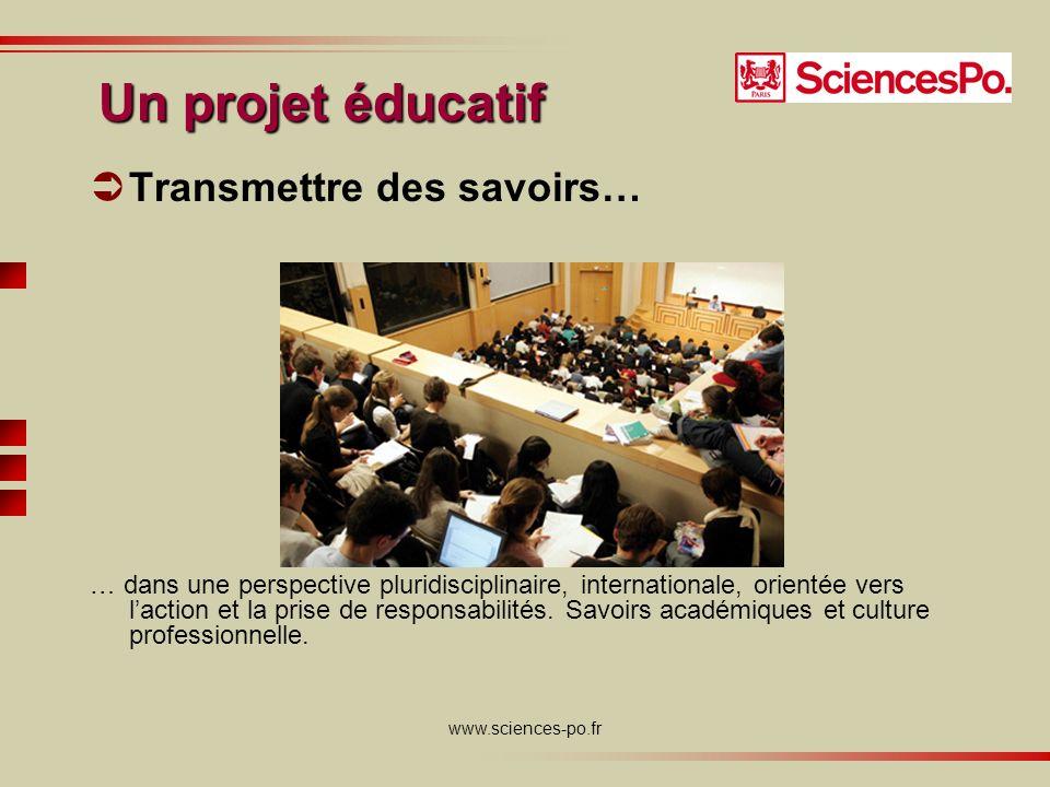 www.sciences-po.fr Développer des aptitudes Pour négocier, convaincre et emporter la décision, il est fondamental dénoncer un propos clair, argumenté et étayé dillustrations précises.