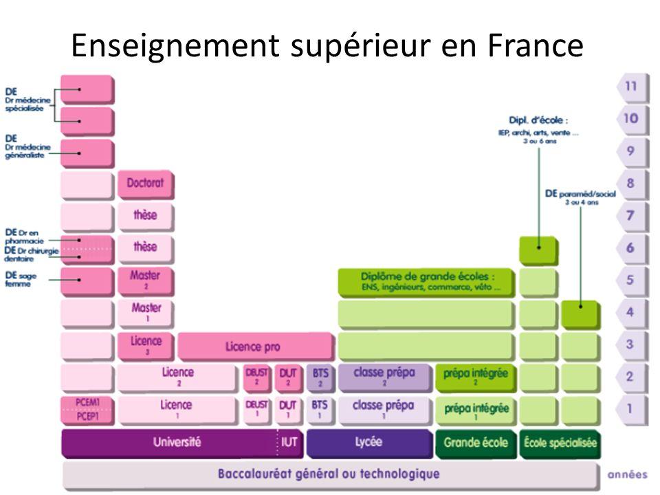 Enseignement supérieur en France