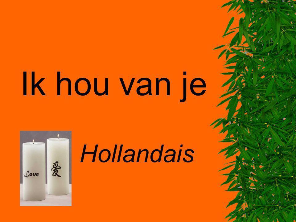 Ik hou van je Hollandais