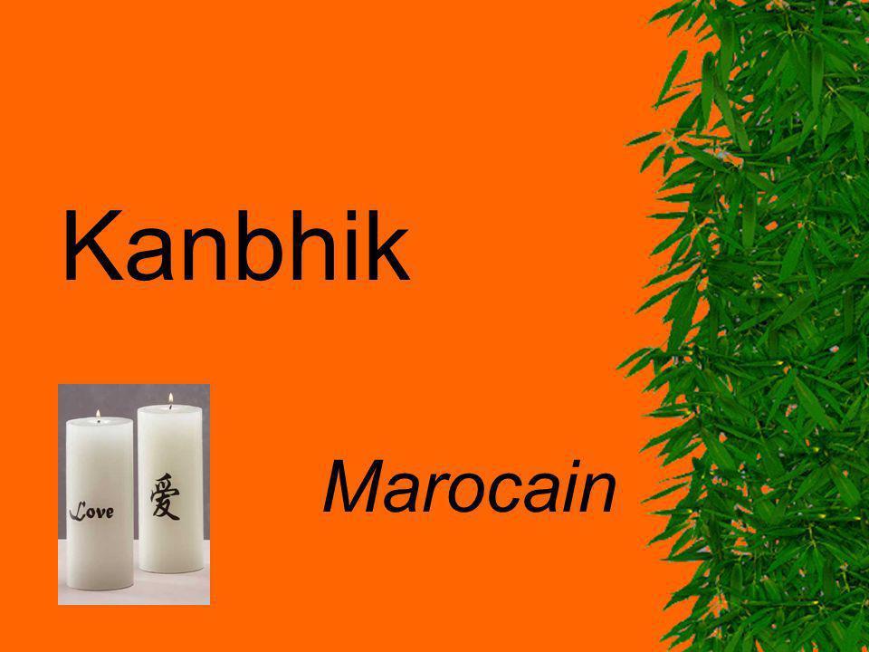 Kanbhik Marocain