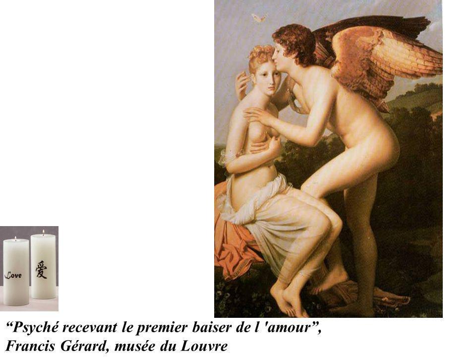 Psyché recevant le premier baiser de l 'amour, Francis Gérard, musée du Louvre