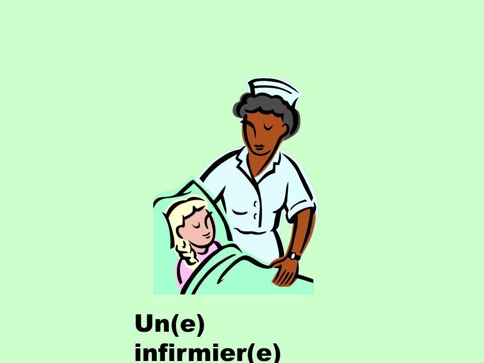 Un(e) infirmier(e)