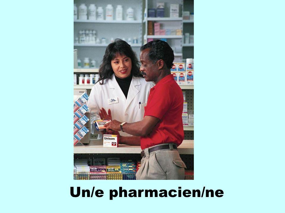 Un/e pharmacien/ne