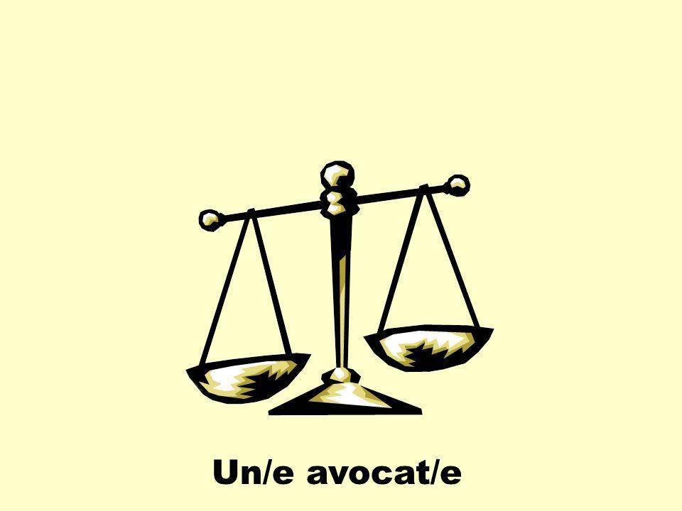 Un/e avocat/e