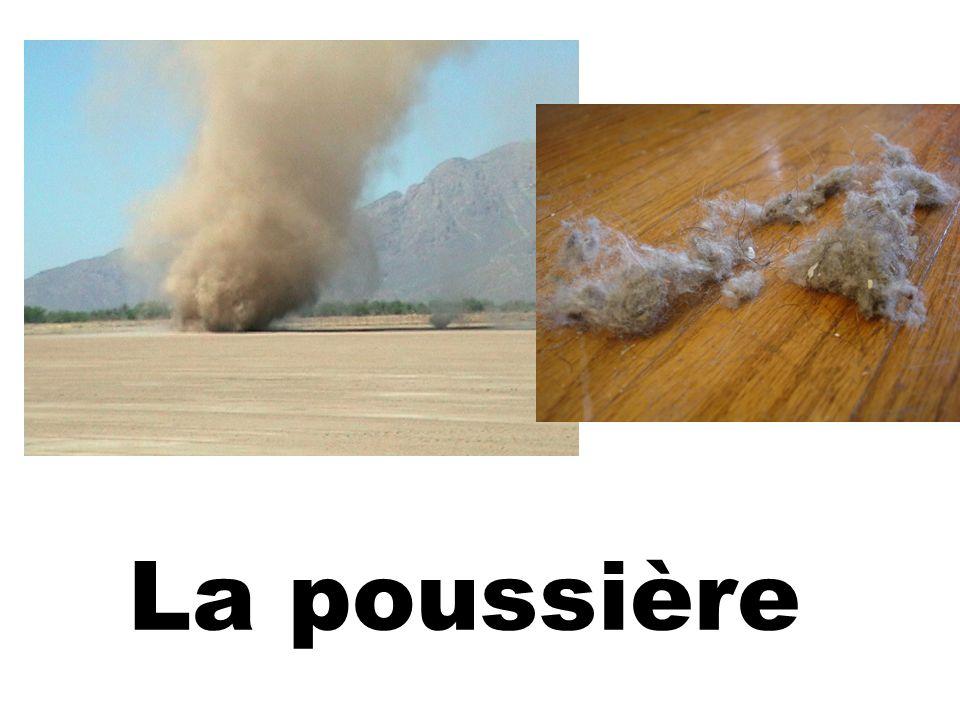 La poussière