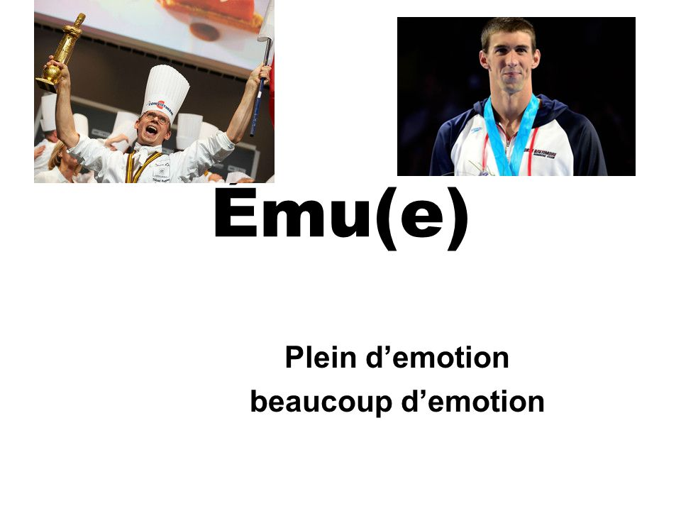 Ému(e) Plein demotion beaucoup demotion