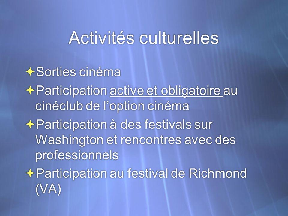 Séquences Au-delà du travail technique, les élèves doivent acquérir une culture cinématographique et une méthode danalyse filmique.