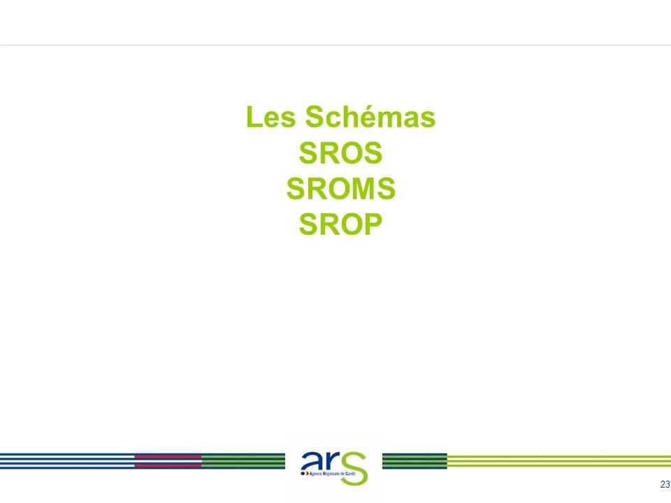 23 Les Schémas SROS SROMS SROP
