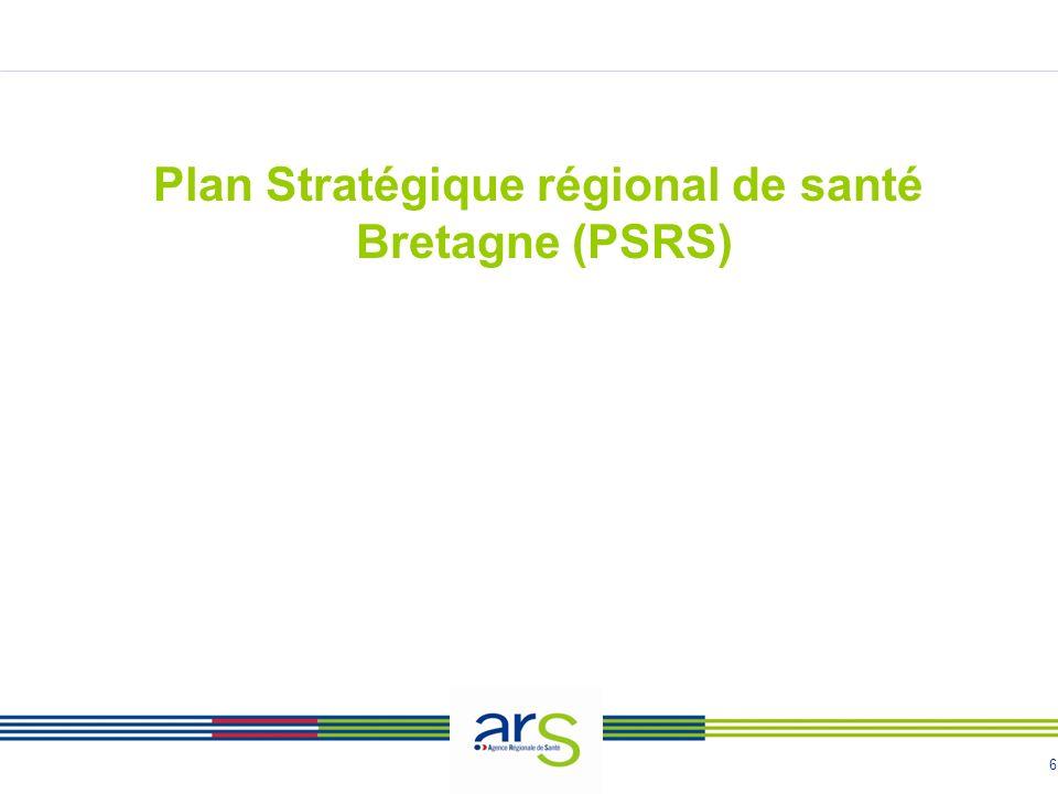 6 Plan Stratégique régional de santé Bretagne (PSRS)