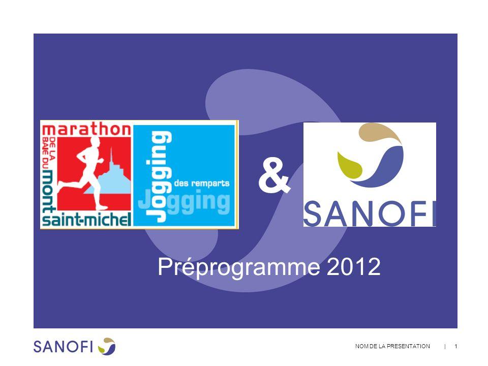 | 1 NOM DE LA PRESENTATION & Préprogramme 2012