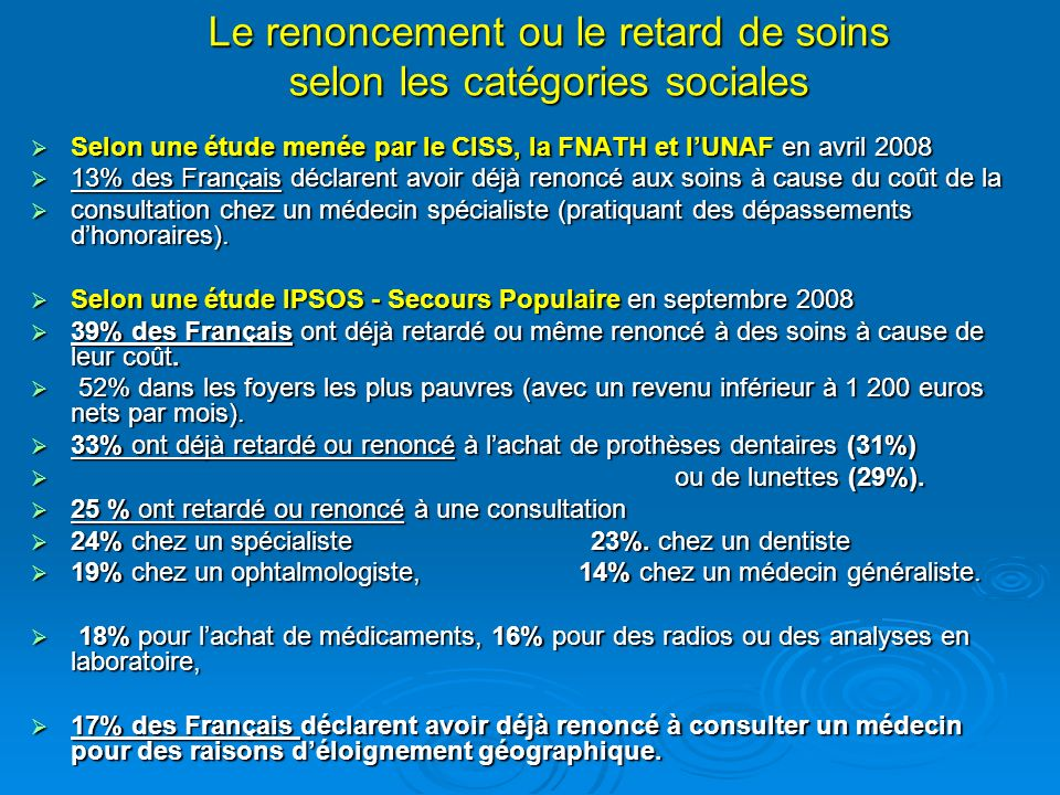 . La densité médicale en Midi-Pyrénées est supérieure à la moyenne nationale, mais les disparités y sont importantes et lURCAM a identifié, en 2005, 2