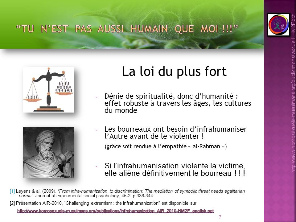 28 http://www.homosexuels-musulmans.org/publications/ accueil_HM2F.ppt