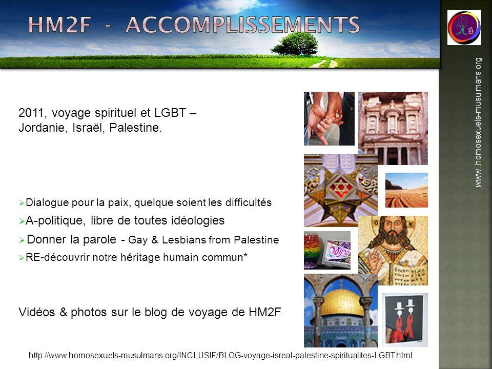 www..homosexuels-musulmans.org 2011, voyage spirituel et LGBT – Jordanie, Israël, Palestine. Dialogue pour la paix, quelque soient les difficultés A-p