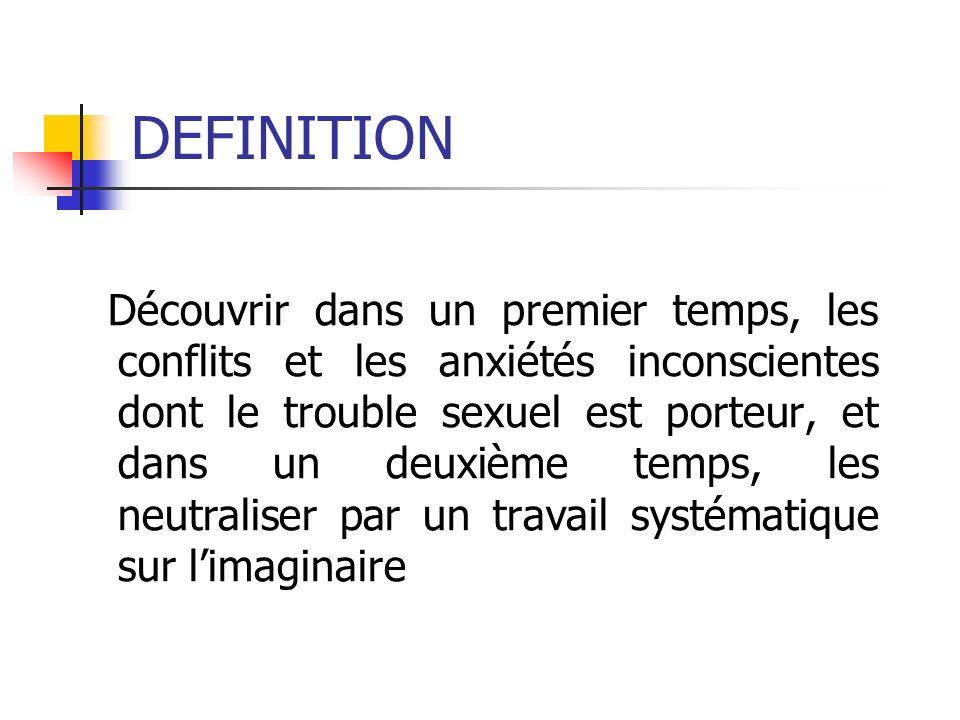 LINCONSCIENT SEXUEL Les anxiétés et les désirs sexuels inconscients peuvent être décodés par lanalyse des fantasmes éveillés et des rêves.