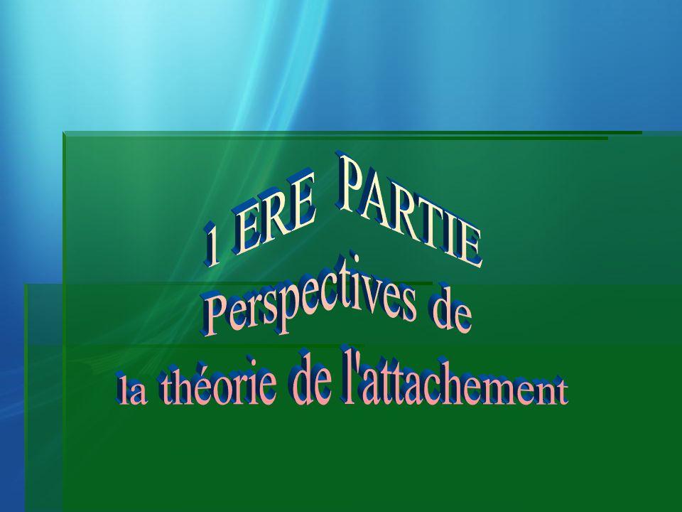 Théorie de lattachement La théorie de lattachement sest inspiré à lorigine de la psychanalyse.