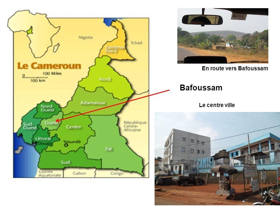 Bafoussam En route vers Bafoussam Le centre ville