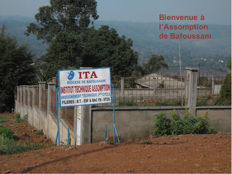 Bienvenue à lAssomption de Bafoussam