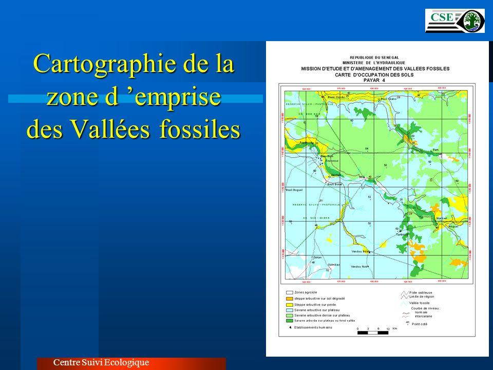 Cartographie de la zone d emprise des Vallées fossiles