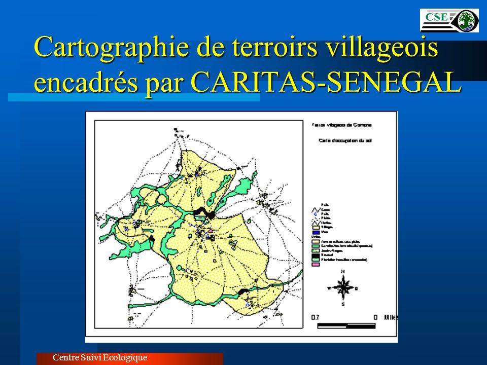 Cartographie de terroirs villageois encadrés par CARITAS-SENEGAL Centre Suivi Ecologique