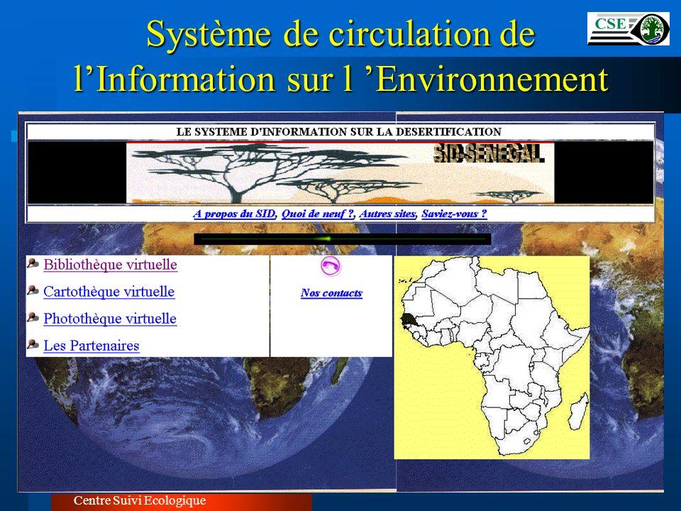 Centre Suivi Ecologique Système de circulation de lInformation sur l Environnement
