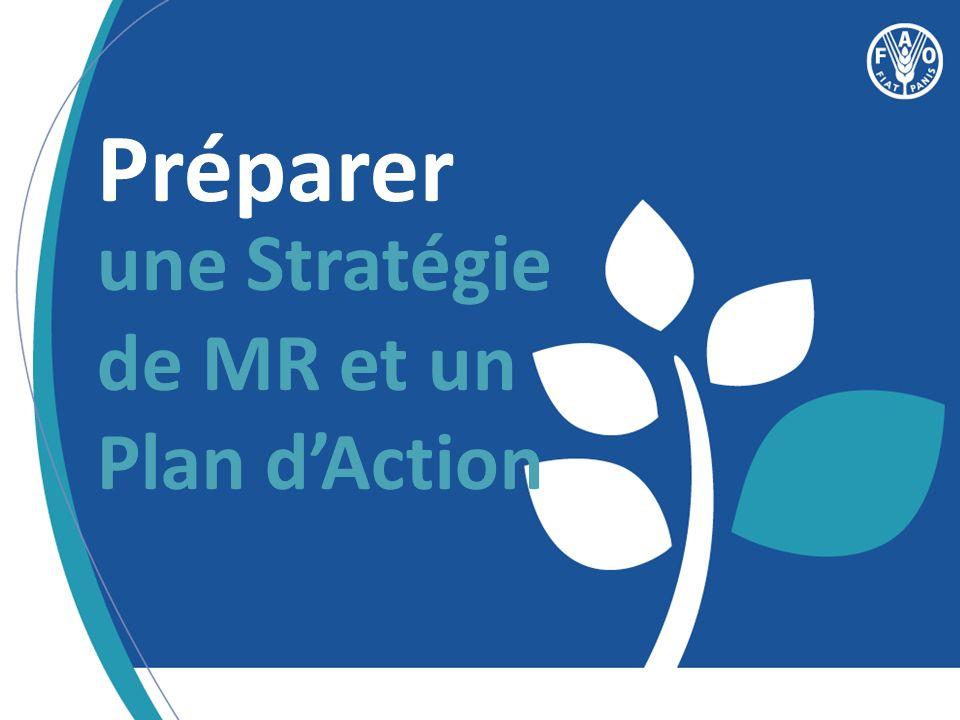 Préparer une Stratégie de MR et un Plan dAction