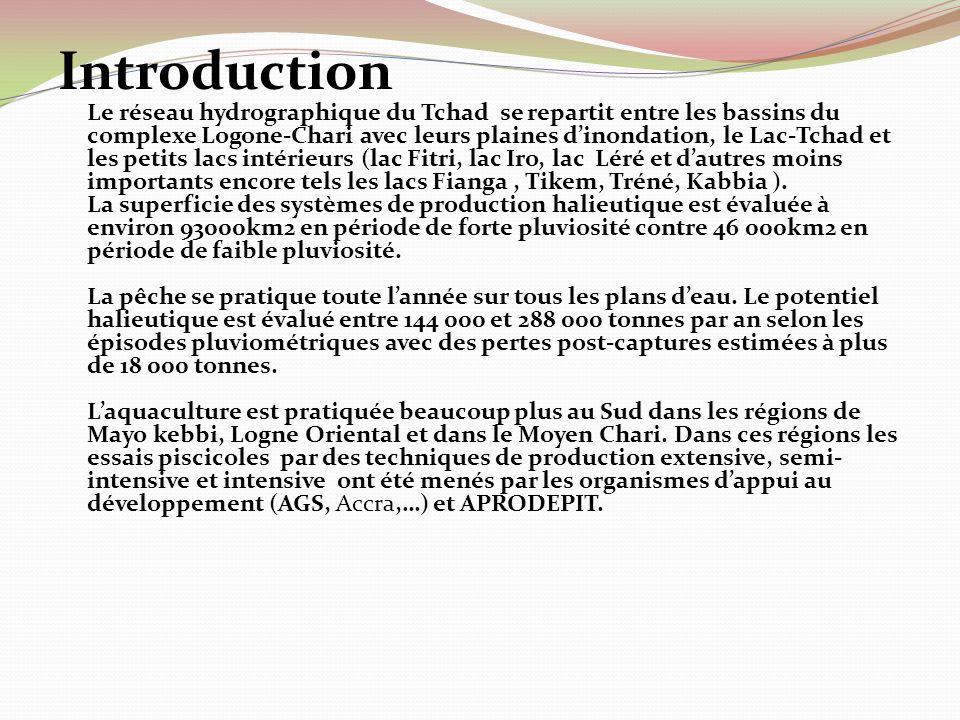 Introduction Le réseau hydrographique du Tchad se repartit entre les bassins du complexe Logone-Chari avec leurs plaines dinondation, le Lac-Tchad et