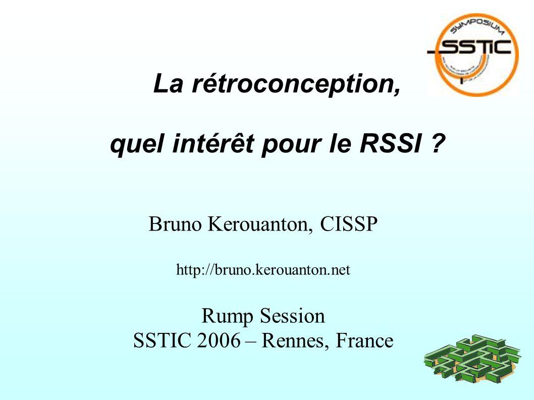La rétroconception, quel intérêt pour le RSSI .