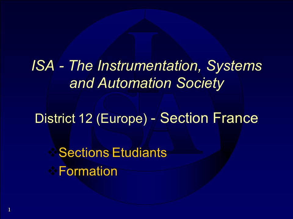12 Divisions (1) Automation and Technology Department Analysis Automatic Control Systems Computer Technology Electro-Optics Environmental Management Process Management and Control Robotics and Expert Systems Telemetry and Communication Measurement