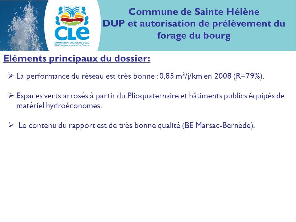 Proposition davis : Considérant : lunité de gestion visée à savoir lOligocène-littoral non déficitaire ; le contenu du dossier présenté ; Le bureau de la CLE considère le dossier proposé compatible avec le SAGE Nappes profondes de Gironde.