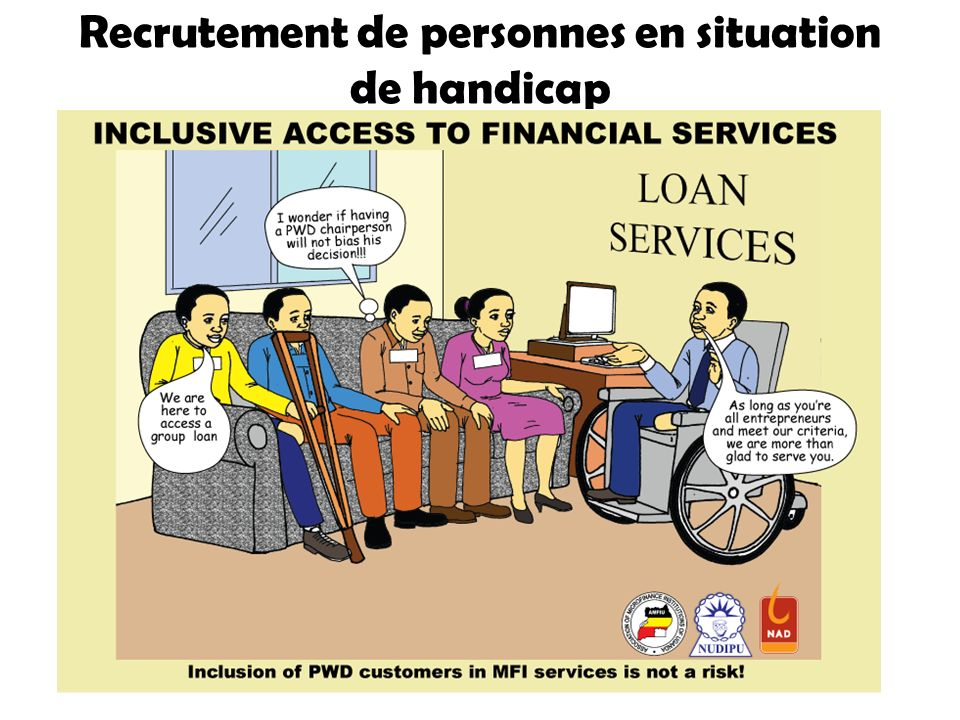 Recrutement de personnes en situation de handicap
