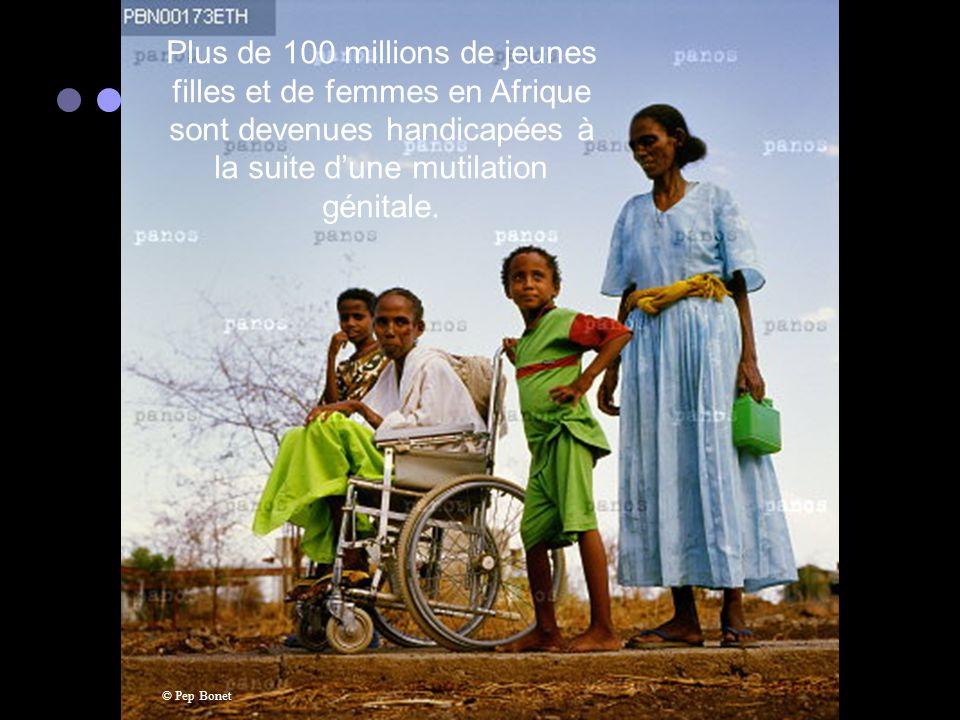 20 millions de femmes par année deviennent handicapées suite à un accouchement. La plupart vivant dans les pays en voie de développement. © Francesco