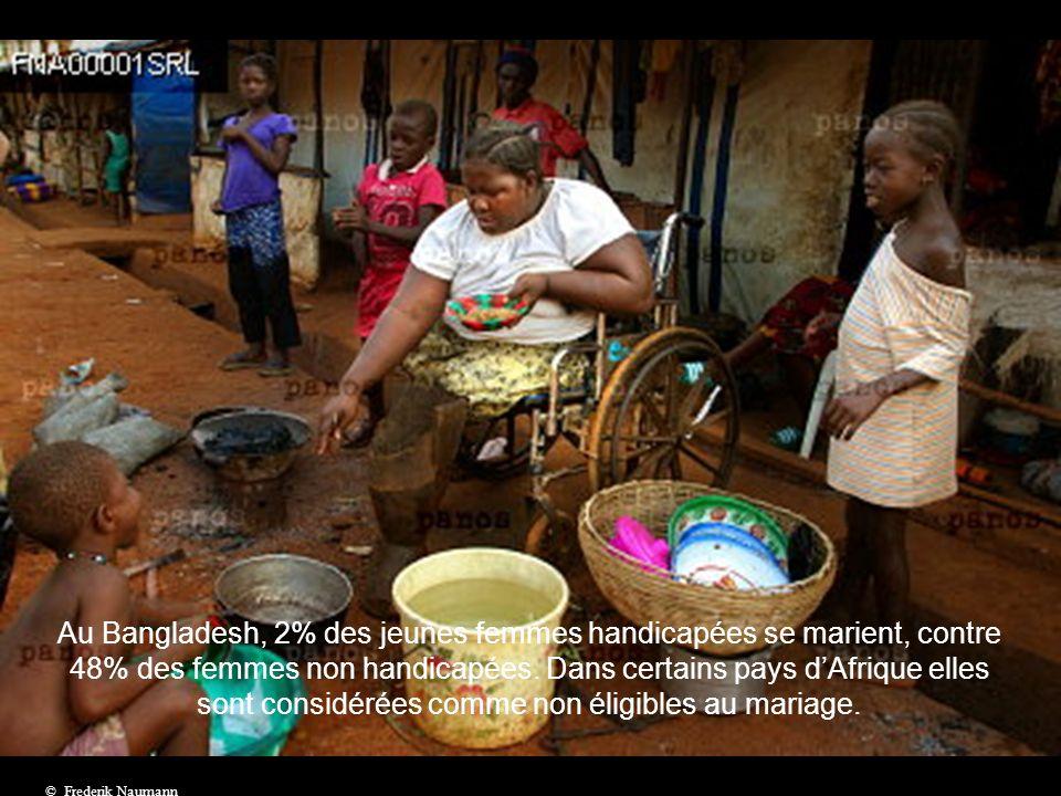 ¼ des femmes en situation de handicap aurait accès au travail.